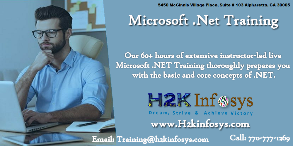 .Net Online Training Classes and Job Assistance