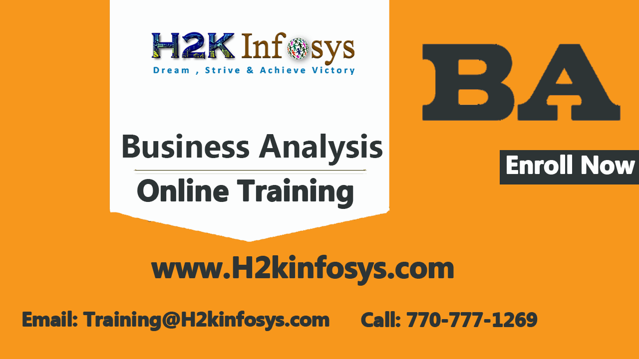 Business Analyst Online Training Course