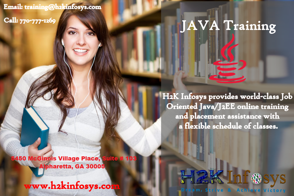 Java Online Training and Placement Assistance