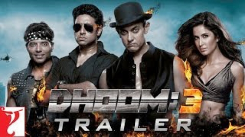 dhoom 3 movie theatrical trailer