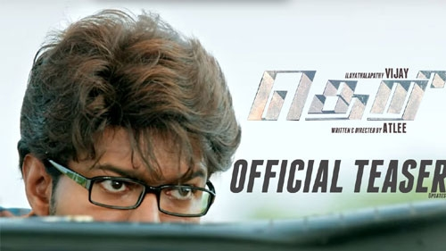 theri official trailer