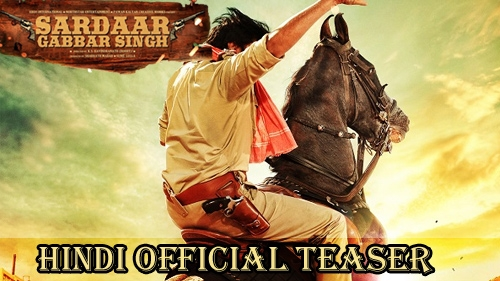 sardaar gabbar singh hindi official teaser