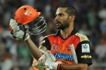 Dhawan Leads SRH to a comfortable win, Rajiv Gandhi Stadium, dhawan leads srh to a comfortable win, Rajiv gandhi stadium
