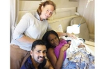 An Indian American Urologist Helps Deliver Baby In An International Flight
