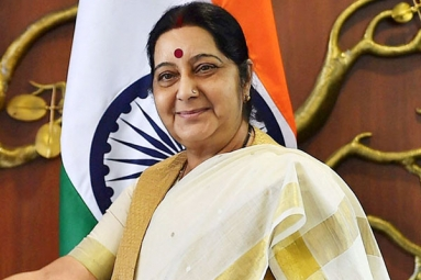 EAM Sushma Swaraj Speaks with French Foreign Minister After Azhar's Asset Freeze