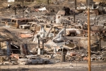destroyed, California fire, fire fighters made significant progress in california, Nia