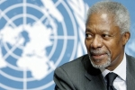 Former UN Chief Kofi Annan Dies at 80