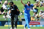 Mohammed Shami Fastest Indian To Take 100 ODI Wickets