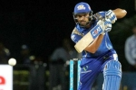 Kolkata Knightriders, Rohit Sharma, mumbai indians overthrows kolkata riders to reach finals, Rajiv gandhi stadium
