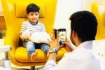 NTR's Son Makes his Debut on Instagram