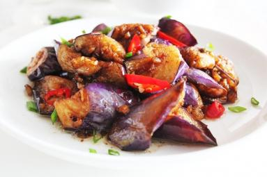 Tasty Stir-fried Brinjal!
