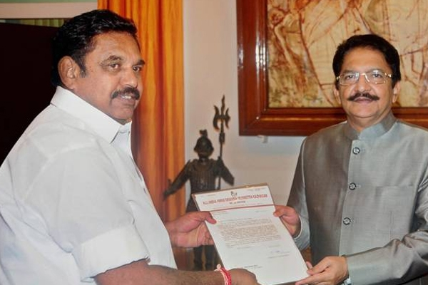 Palaniswami sworn as CM of Tamil Nadu